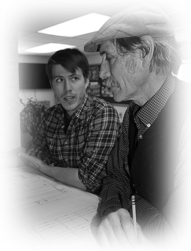 Founder Ridge Shinn with CEO Christian Gudmand
