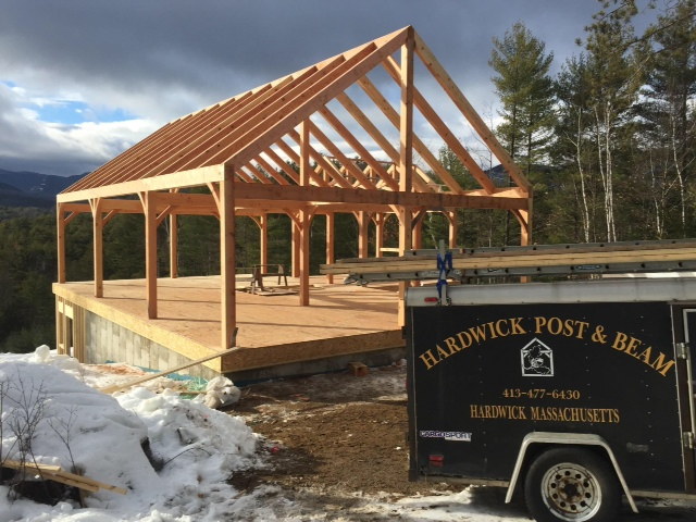 Hardwick Post & Beam is a small company of craftsmen.