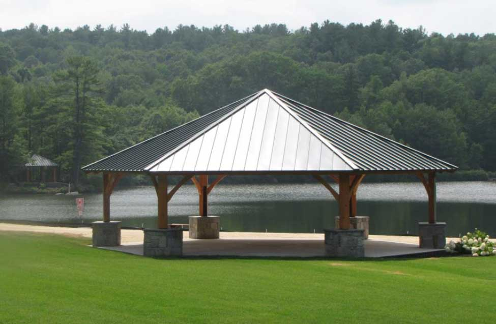 Leominster exterior large & small pavillions