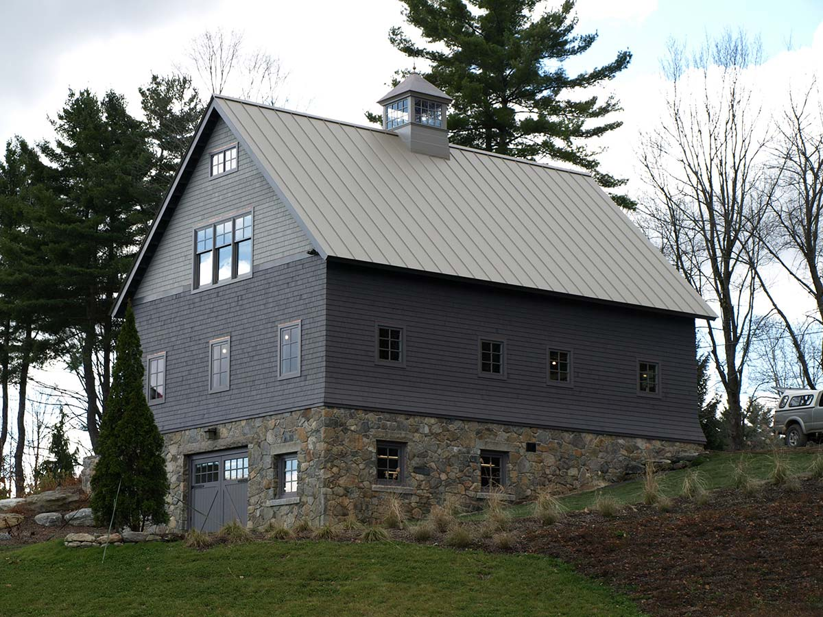 Barns studios for Carriage house barn