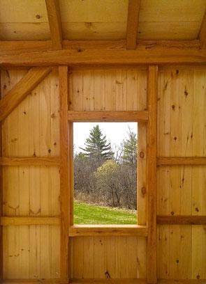 Stockbridge barn. large window