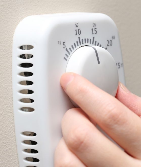 Thermostat stay warm in the winter with energy efficiency
