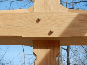 Timber Frame Joint Detail