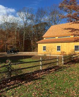 speare barn landscaped