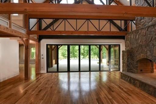 Great room with veranda