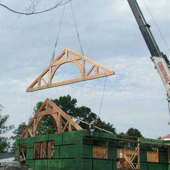 Flying truss