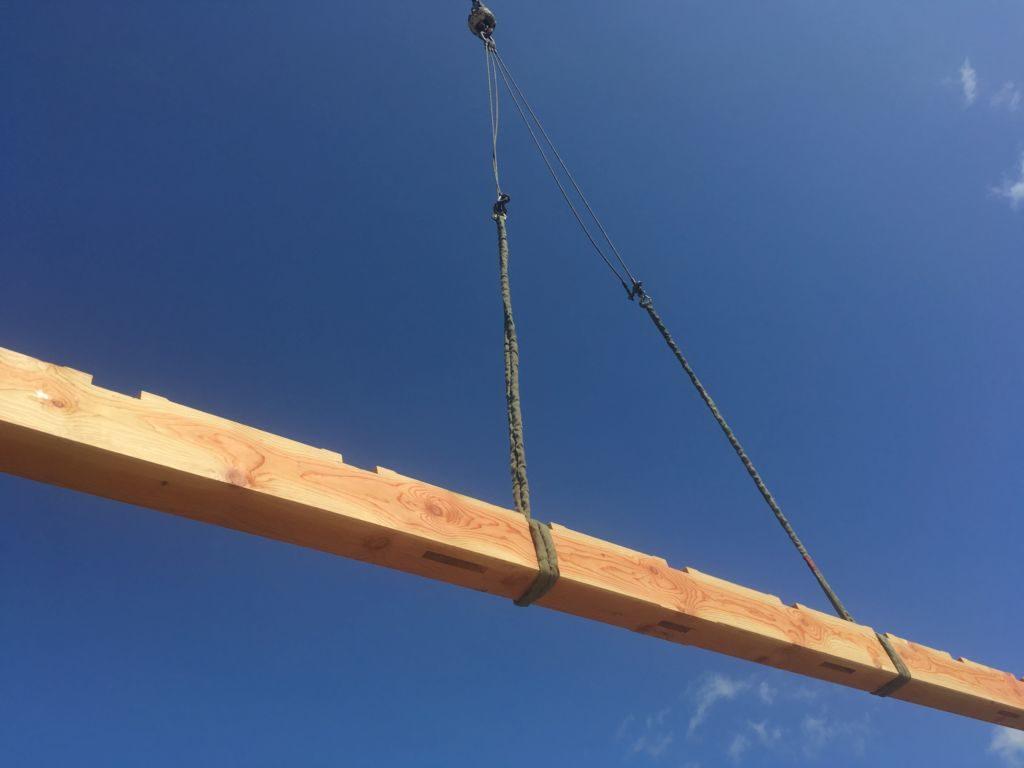 Flying beam