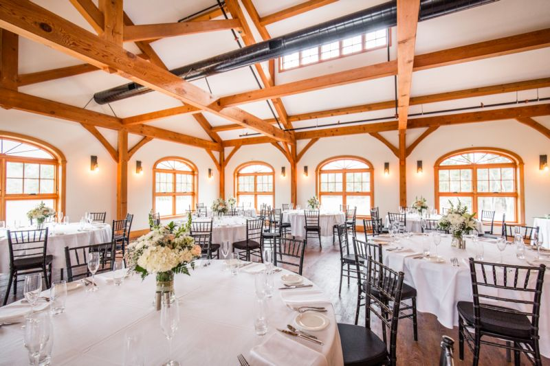 Timber frame wedding venue
