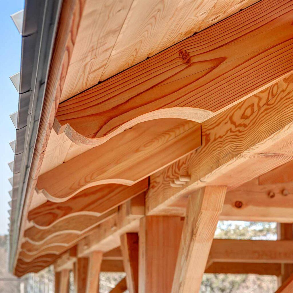 Westmoor Park Pavilion Rafter Details