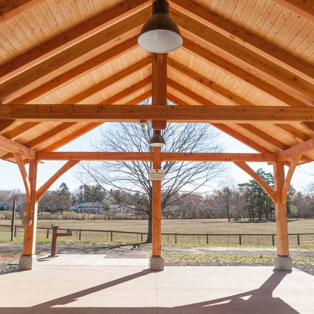 Westmoor Park Pavilion Inside